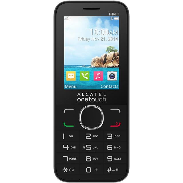 Alcatel 276381 Mobile Phone in Black
