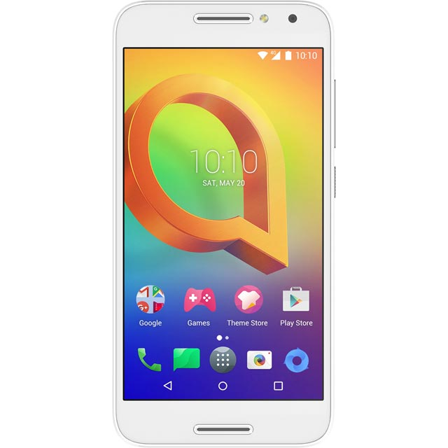 Alcatel 276393 Mobile Phone in White