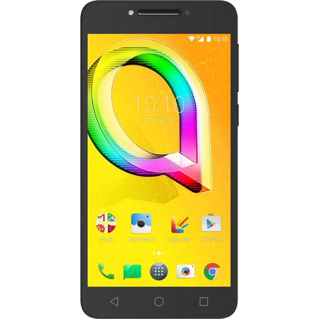 Alcatel A5 LED 16GB Smartphone in Black