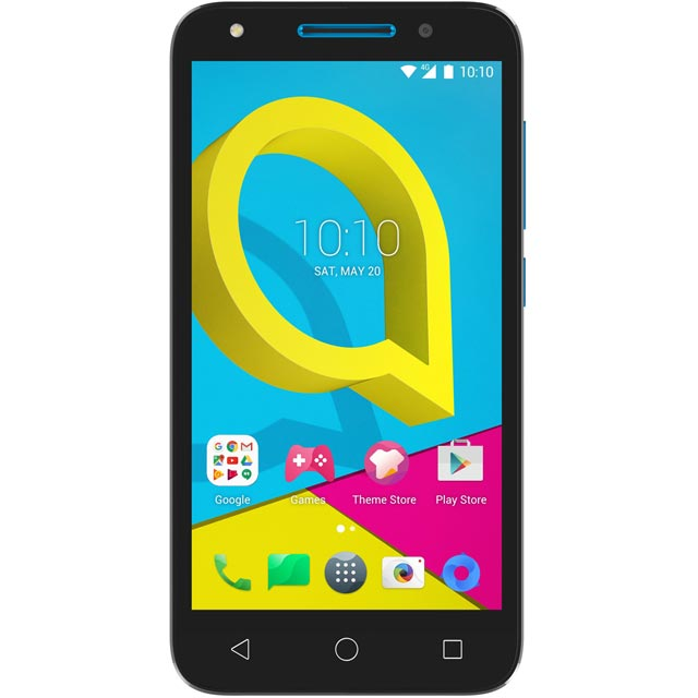 Alcatel 276418 Mobile Phone in Black / Blue