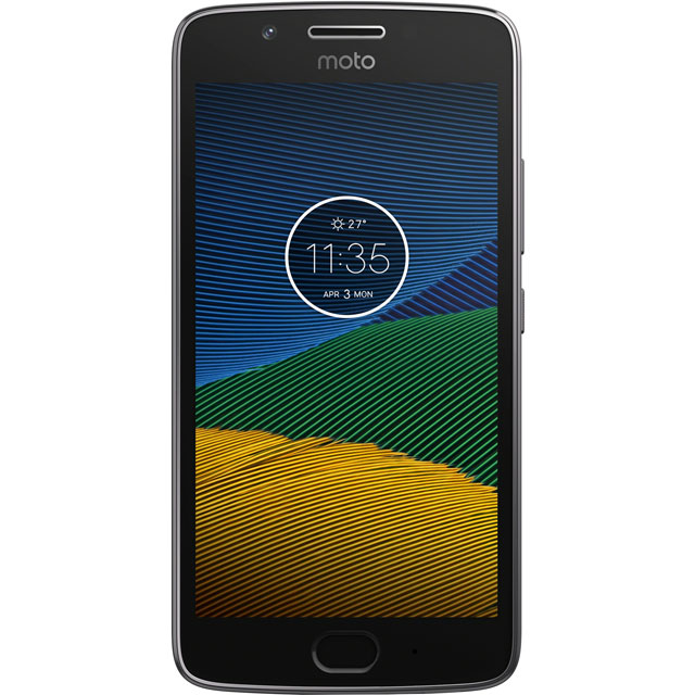 Motorola Moto G5S 32GB Smartphone in Grey