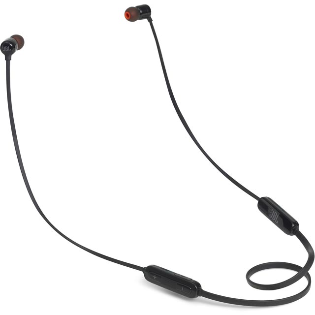 JBL T110BT In-ear Wireless Sports Headphones - Black - 277085 - 1