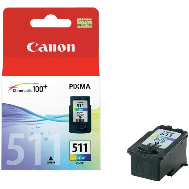 Canon CL-511 C/M/Y Colour Ink Cartridge