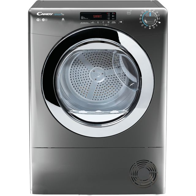 Candy CSOEC9DCRG Wifi Connected 9Kg Condenser Tumble Dryer - Graphite - B Rated