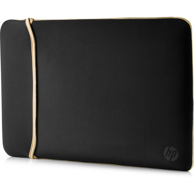 "HP Chroma Sleeve for 15.6"" Laptop Laptop - Black / Gold - 2UF60AA#ABB - 1"
