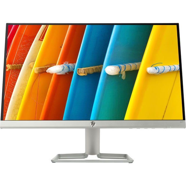"HP 22f Full HD 21.5"" 60Hz Monitor with AMD FreeSync - Silver"