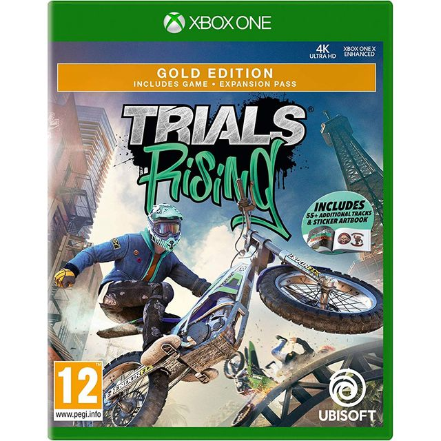 Trials Rising Gold Edition for Xbox One [Enhanced for Xbox One X] - 300095846 - 1