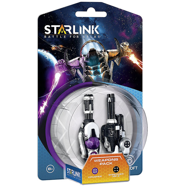 Starlink: Crusher and Shredder Weapon Pack for PlayStation 4, Xbox One and Nintendo Switch