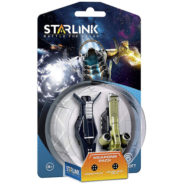 Starlink: Shockwave and Gauss Gun Mk.2 Weapon Pack for 	PlayStation 4, Xbox One and Nintendo Switch