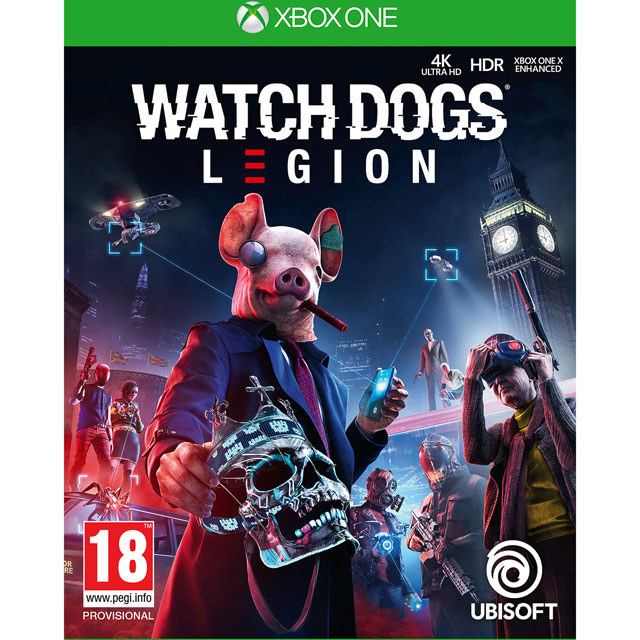 Watch Dogs Legion for Xbox One [Enhanced for Xbox One X] - 300111237 - 1