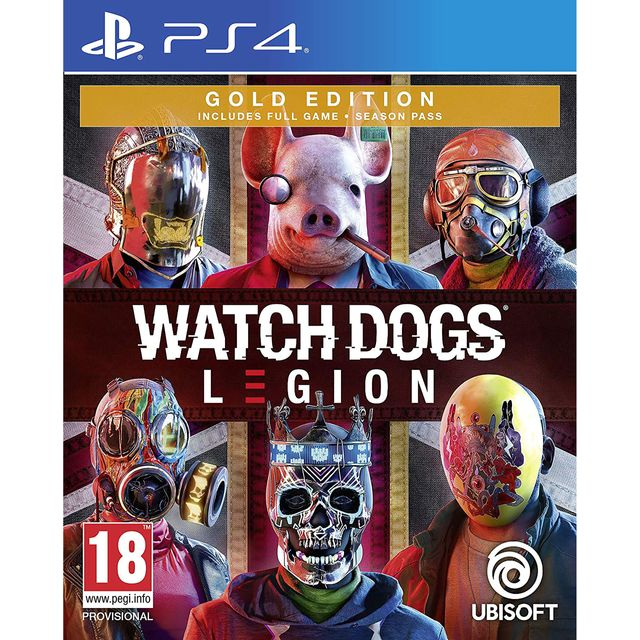 Watch Dogs Legion Gold for PlayStation 4 - 300111681 - 1