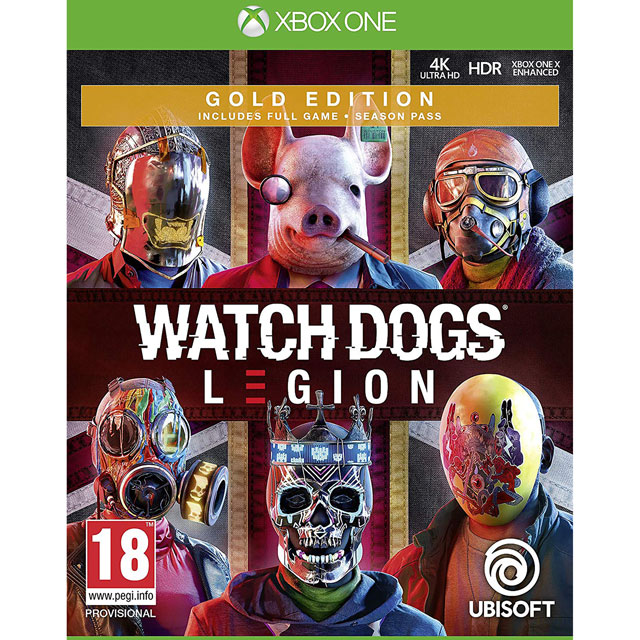 Watch Dogs Legion Gold for Xbox One [Enhanced for Xbox One X] - 300111684 - 1