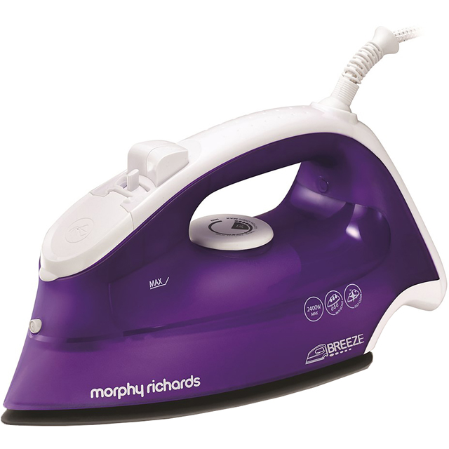 Morphy Richards Breeze 2400W 300275 2400 Watt Iron -Purple / White - 300275_PU - 1