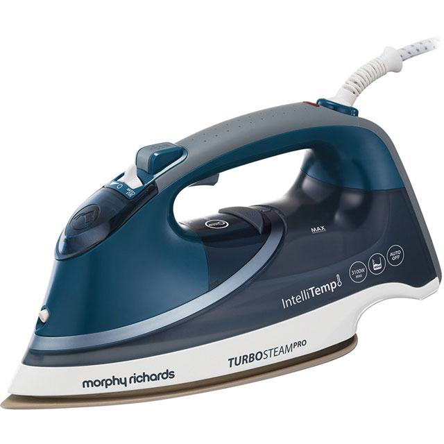 Morphy Richards Turbosteam Pro 303131 3100 Watt Iron -Grey / Blue - 303131_GYB - 1