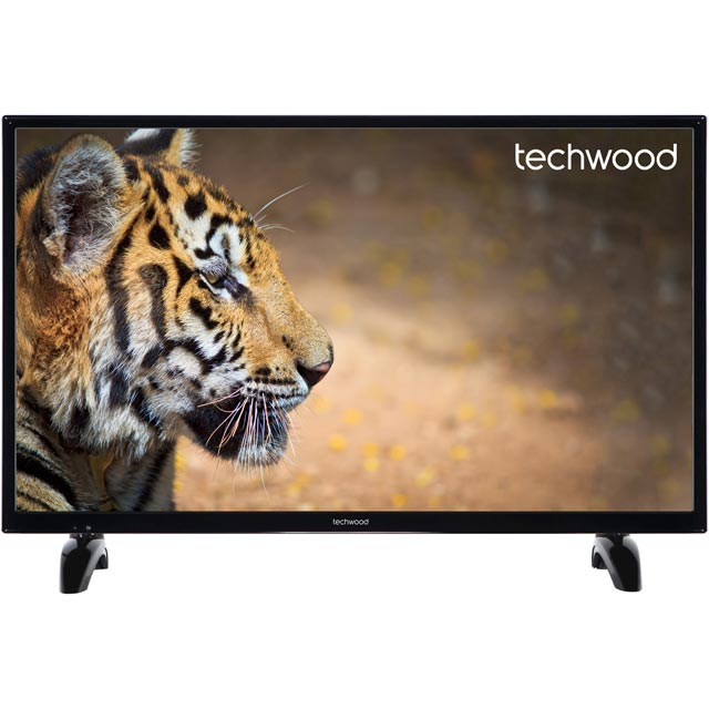 Techwood 32AO7USB Led Tv in Black