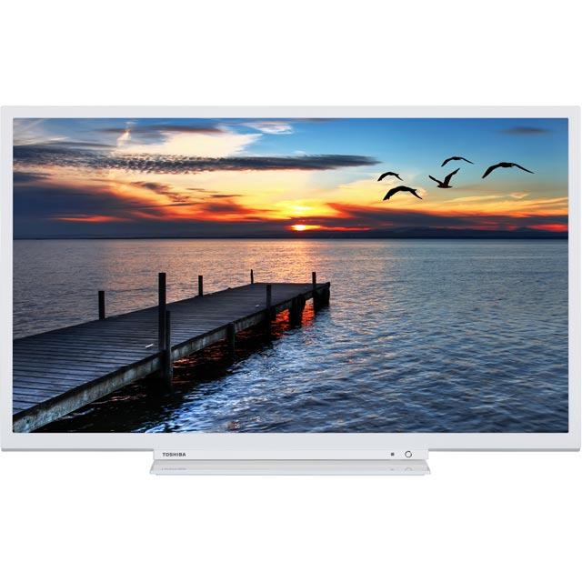 Toshiba 32D3754DB Led Tv in White