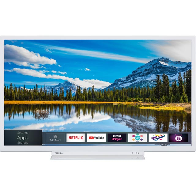 Toshiba 32D3864DB Led Tv in White
