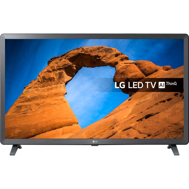 "LG 32LK610BPLB 32"" Smart TV with Freeview Play - Black / Grey - [A+ Rated] - 32LK610BPLB - 1"