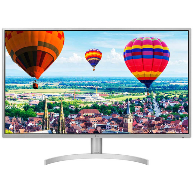 "LG Quad HD 31.5"" 75Hz Gaming Monitor with AMD FreeSync - Silver - 32QK500 - 1"