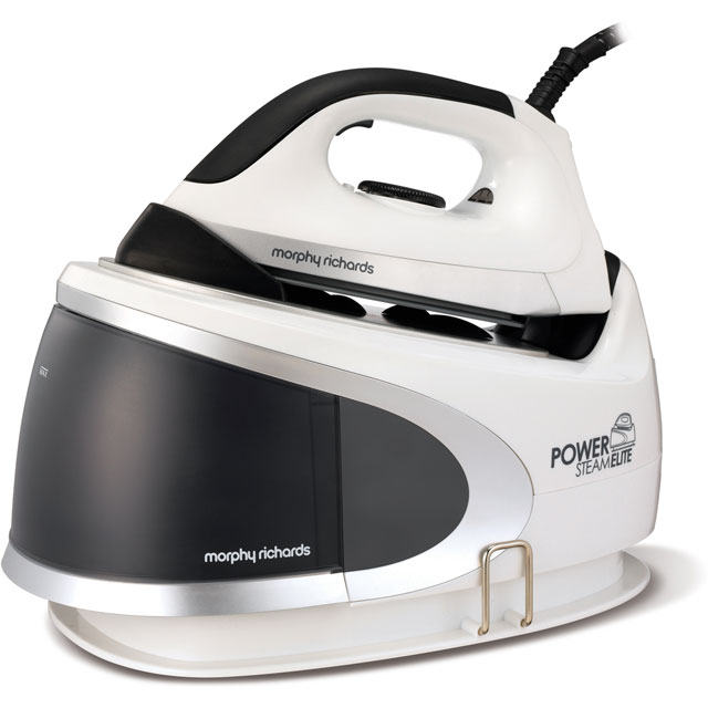Morphy Richards Power Steam Elite 330023 Steam Generator Iron - Black / White - 330023_BKW - 1