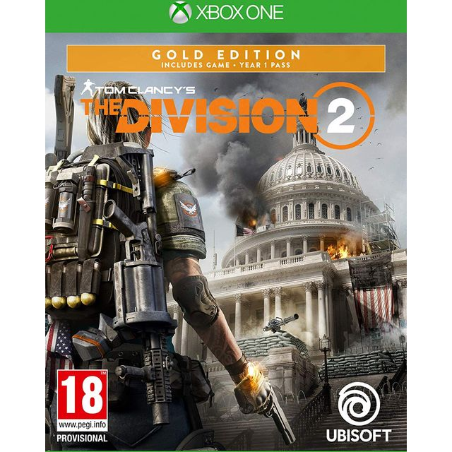 Tom Clancys The Division 2 - Gold Edition for Xbox One [Enhanced for Xbox One X]