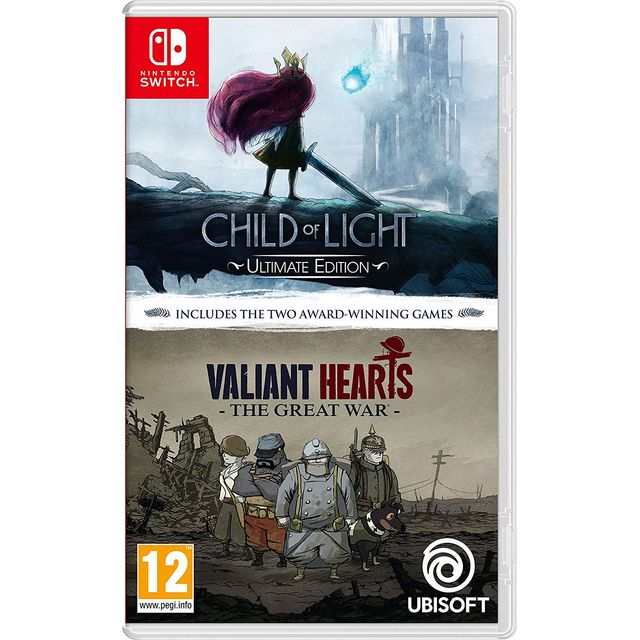 Child of Light & Valiant Hearts: The Great War for Nintendo Switch - 3307216102045BC - 1