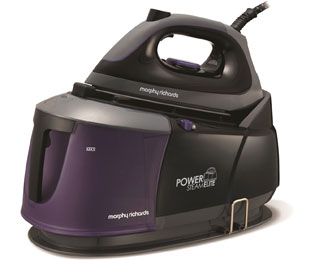 Morphy Richards Power Steam Elite With AutoClean 332000 Pressurised Steam Generator Iron