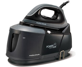Morphy Richards Power Steam Elite 332001_BK Steam Generator Iron - Black / Grey