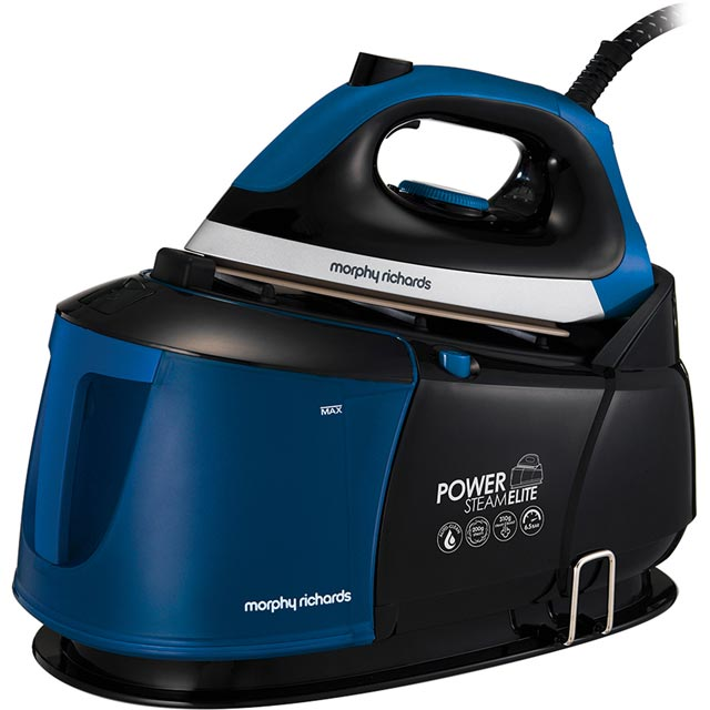 Morphy Richards Power Steam Elite 332016 Pressurised Steam Generator Iron - Black / Blue - 332016_BK - 1