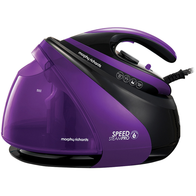 Morphy Richards Auto Clean Speed Steam Pro Pressurised 332100 3000 Watt Iron -Black / Blue