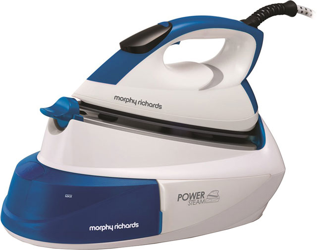 Morphy Richards Pressurised Steam Generator Iron - Blue / White
