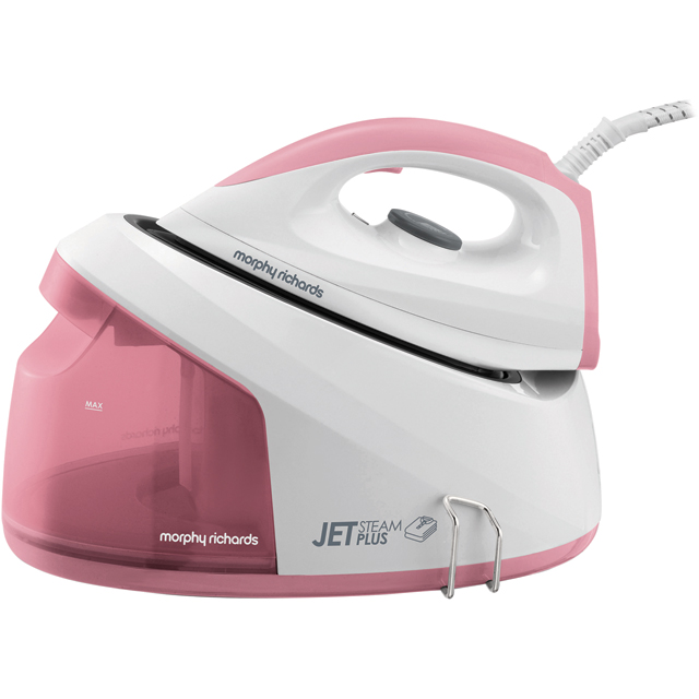 Morphy Richards Jet Steam Plus 333101 Pressurised Steam Generator Iron - Pink / White - 333101_PKWH - 1