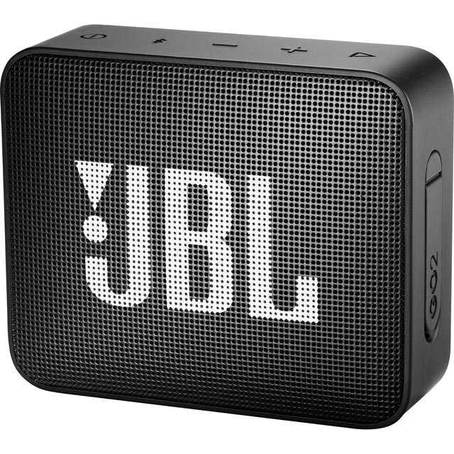 JBL Go 2 Portable Bluetooth Wireless Speaker - Black