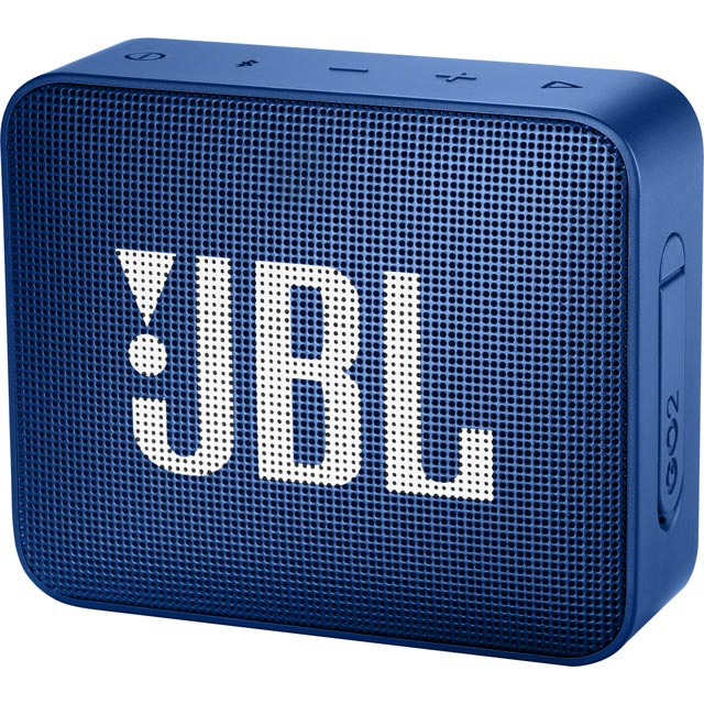 JBL Go 2 Portable Bluetooth Wireless Speaker - Blue