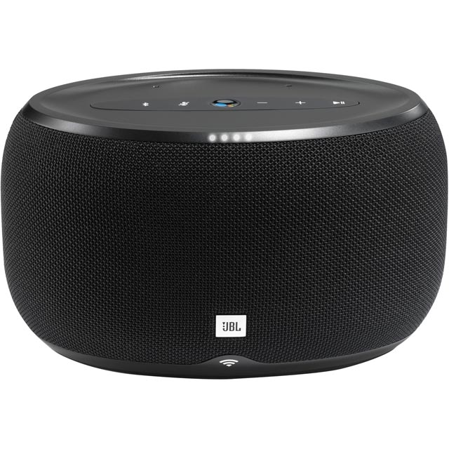 JBL Link 300 Wireless Speaker with Google Assistant - Black - 361626 - 1