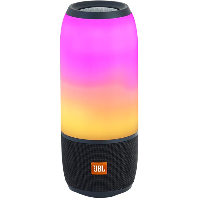 JBL Pulse 3 Portable Bluetooth Wireless Speaker - Black