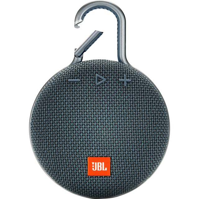 JBL Clip 3 Portable Wireless Speaker - Blue - 366988 - 1