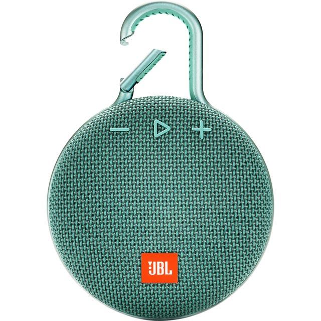 JBL Audio Clip 3 Wireless Speaker in Teal