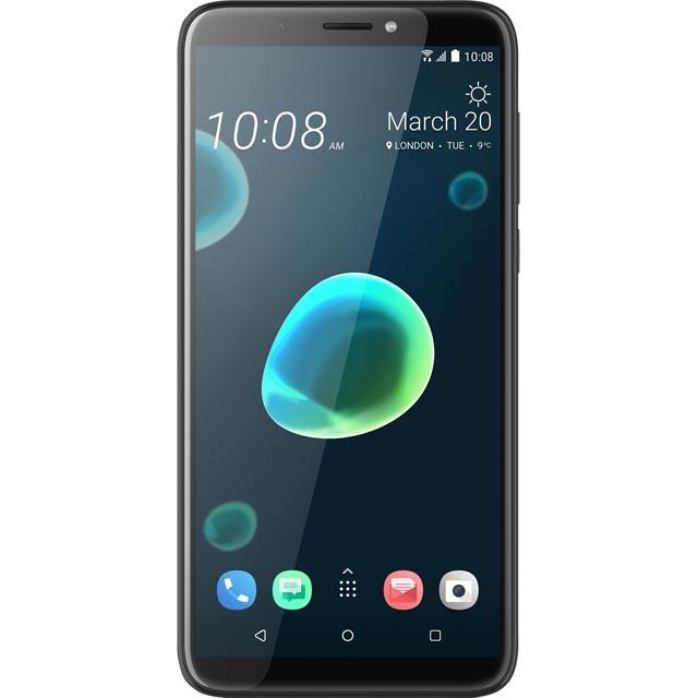 HTC Desire 12 Mobile Phone in Black