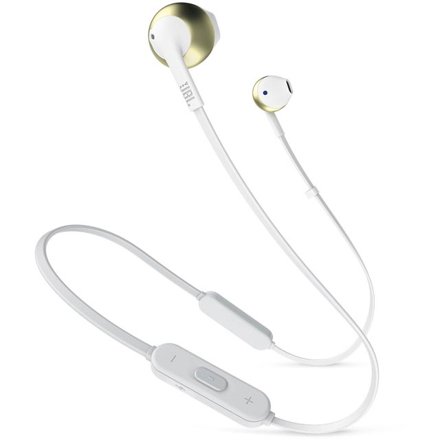 JBL Tune205BT In-Ear Wireless Headphones - Gold - 368801 - 1