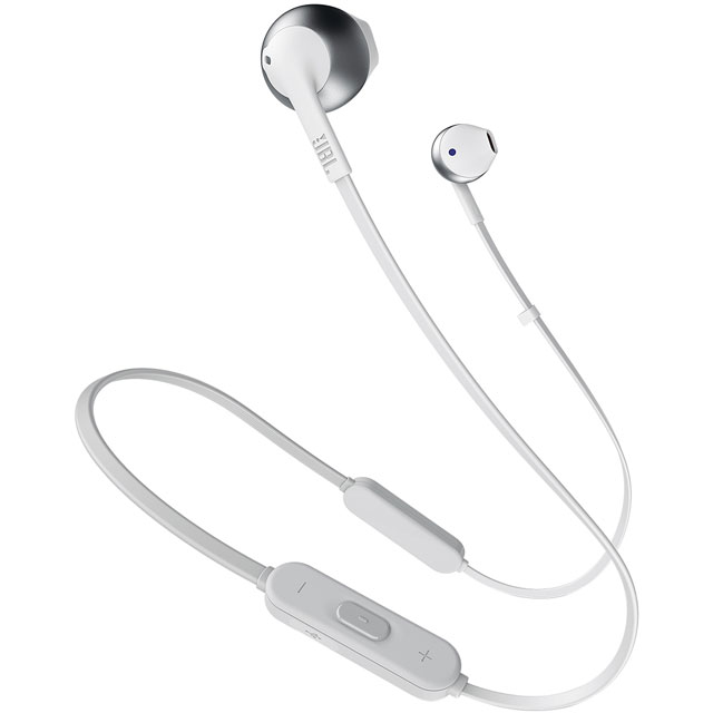 JBL Tune205BT In-Ear Wireless Headphones - Silver - 368802 - 1