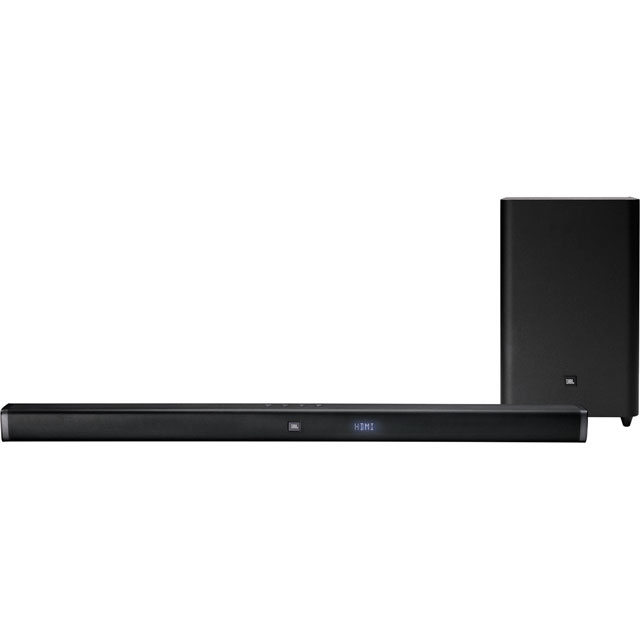 JBL Bar Studio 2.1 Bluetooth Soundbar with Wireless Subwoofer - Black