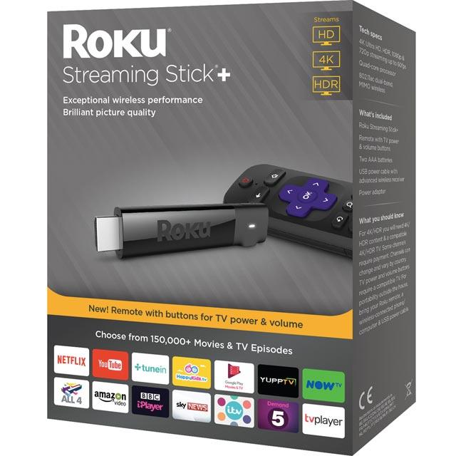 Roku Streaming Stick+ - Black