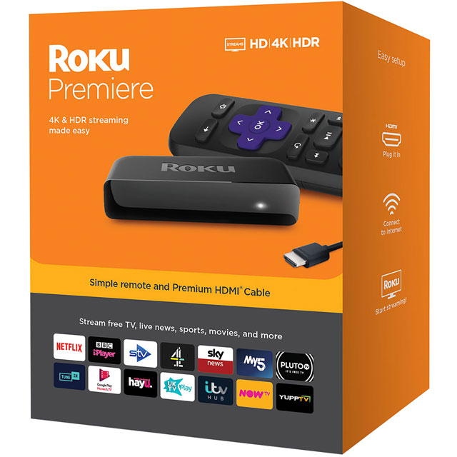 Roku Roku Premiere Streaming Player - Black