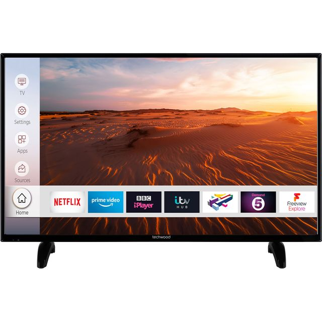 "Techwood 39AO8FHD 39"" Smart TV - Black - 39AO8FHD - 1"