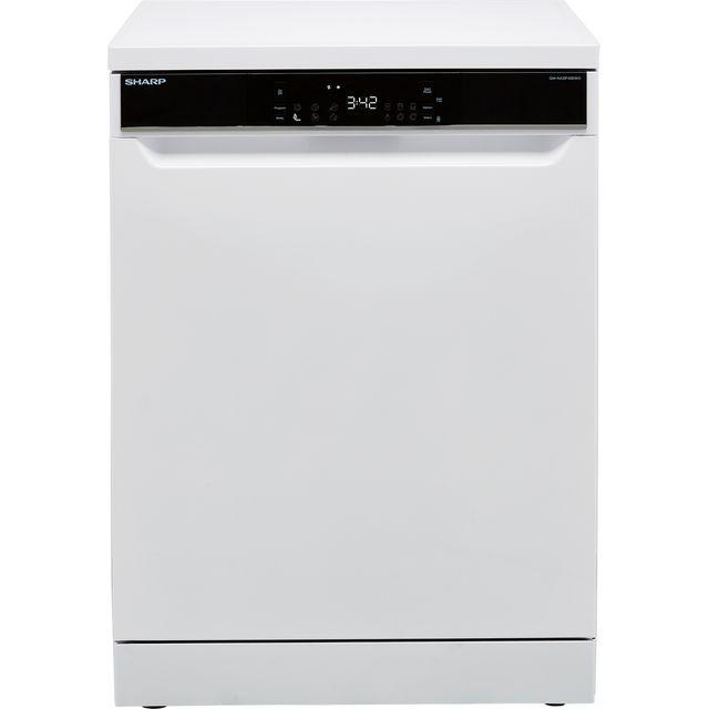 Sharp QW-NA31F45EWO-EN Standard Dishwasher - White - E Rated