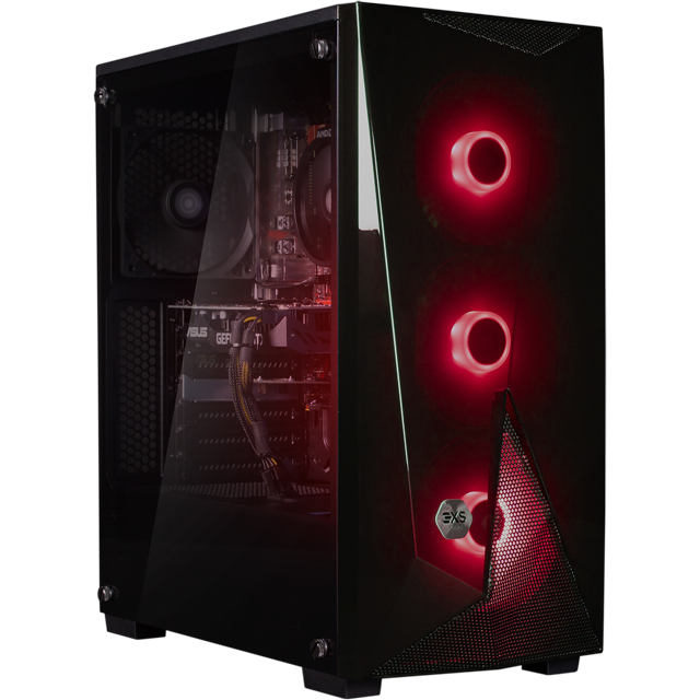 3XS Core 1660Ti RGB Gaming Tower - Black - 3XS-102177 - 1