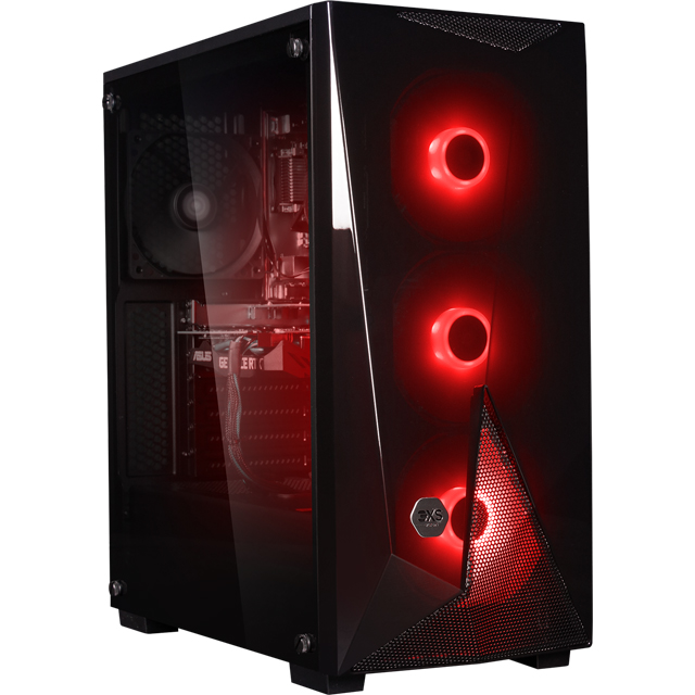 3XS Core 2060 RGB Gaming Tower - Black - 3XS-102178 - 1