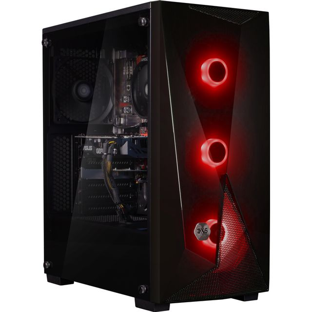 3XS Core 2060 RGB Gaming Tower - 1TB SSD - Black