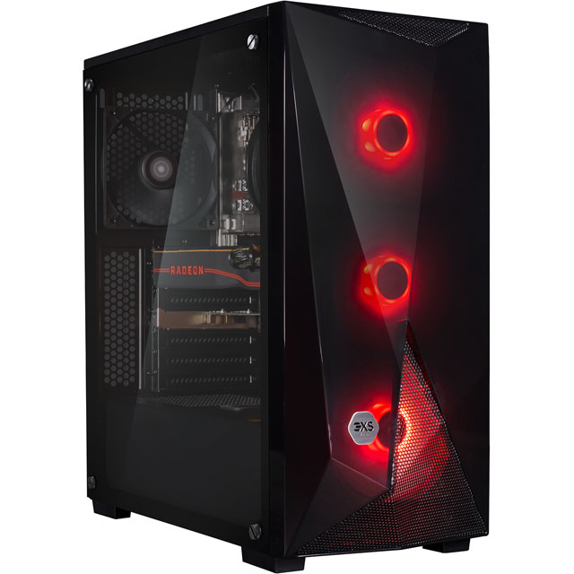3XS Core 5700XT RGB Gaming Tower - Black - 3XS-102179 - 1